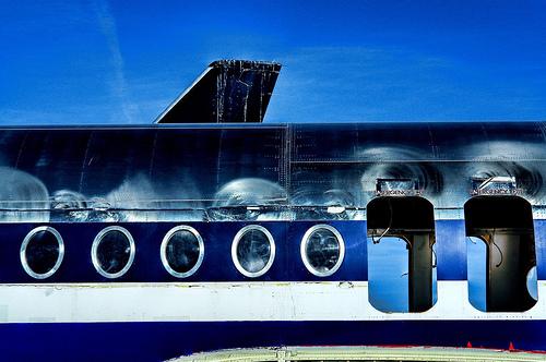 HDR Plane Image